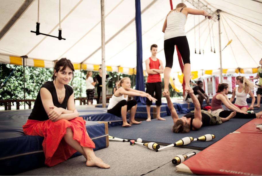 Vrijwilligerswerk in het circus